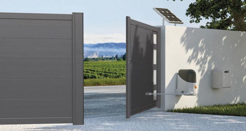motorisation portail aluminium